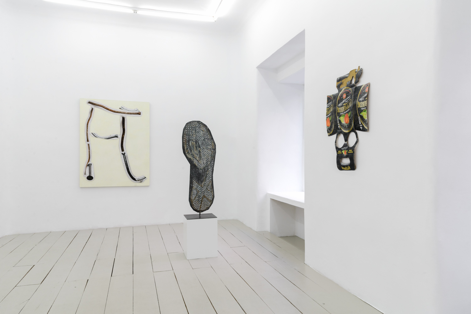 Feitiço. Installation view